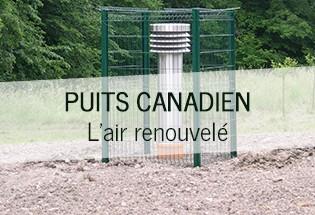 Installation poste de transformation Puit canadien 57